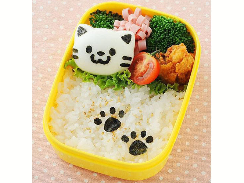 Yude Tama Egg Molds & Cutter | Kitty Cat Set by Arnest - Bento&co Japanese Bento Lunch Boxes and Kitchenware Specialists
