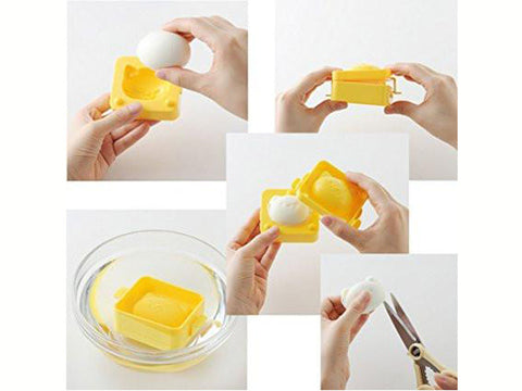 Yude Tama Egg Molds & Cutter | Kitty Cat Set by Arnest - Bento&con the Bento Boxes specialist from Kyoto