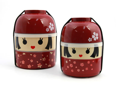 Kokeshi Bento Hanako Big by Hakoya - Bento&co Japanese Bento Lunch Boxes and Kitchenware Specialists