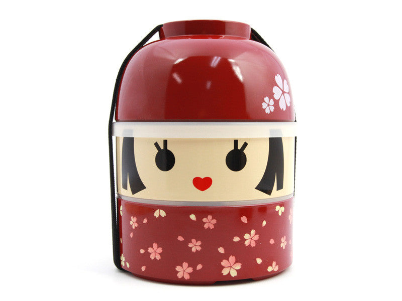 Kokeshi Bento Hanako Big by Hakoya - Bento&con the Bento Boxes specialist from Kyoto