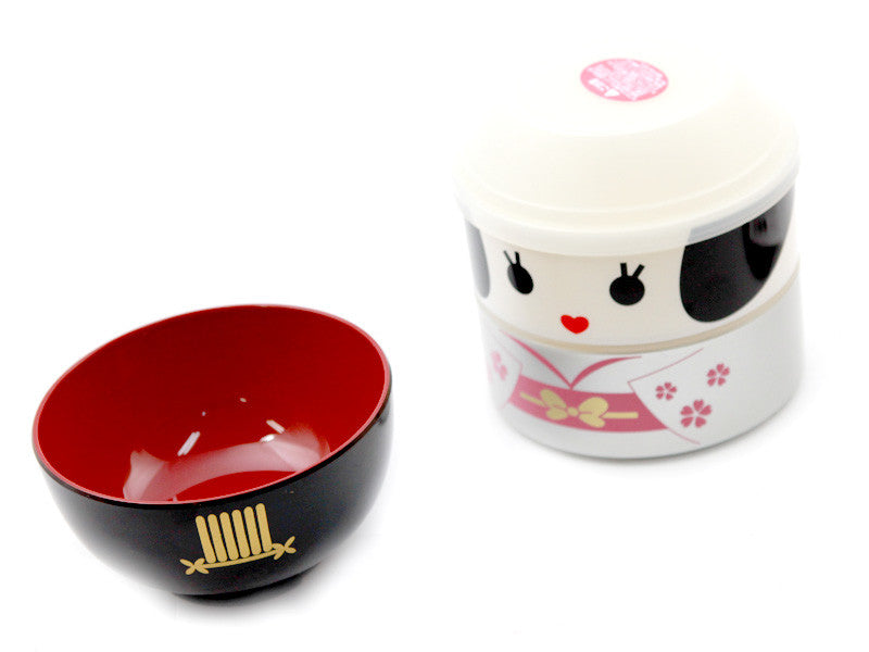 Kokeshi Bento Maihime by Hakoya - Bento&co Japanese Bento Lunch Boxes and Kitchenware Specialists