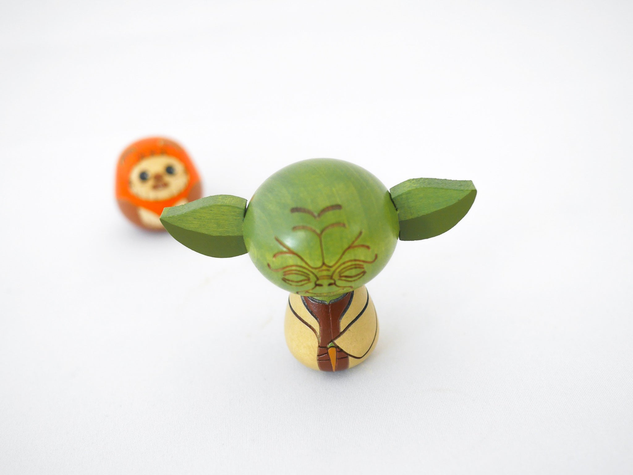 Star Wars Kokeshi Wood Doll | Yoda