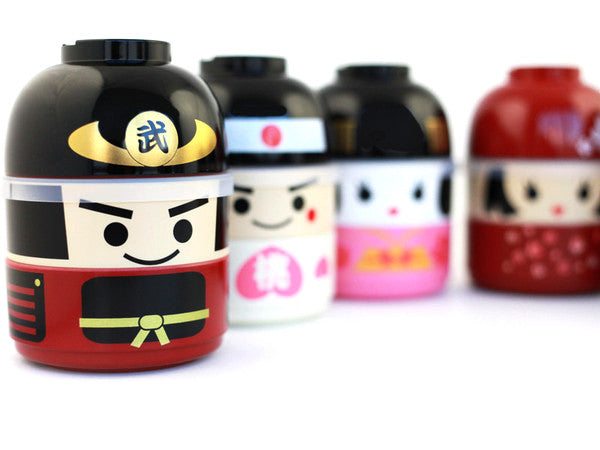 Kokeshi Bento Bushi by Hakoya - Bento&co Japanese Bento Lunch Boxes and Kitchenware Specialists