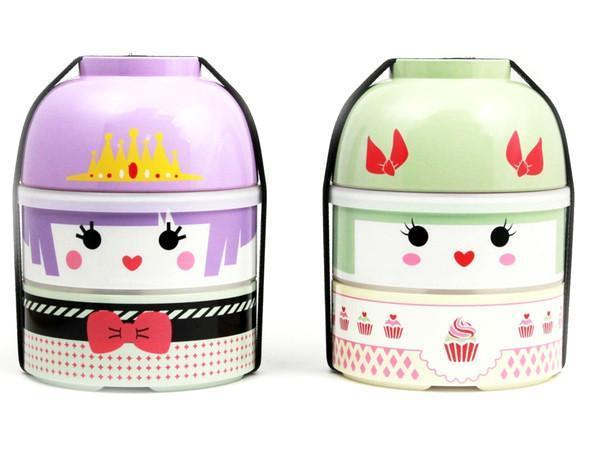 Kokeshi Bento Big | Lolita Miki by Bento&co - Bento&co Japanese Bento Lunch Boxes and Kitchenware Specialists
