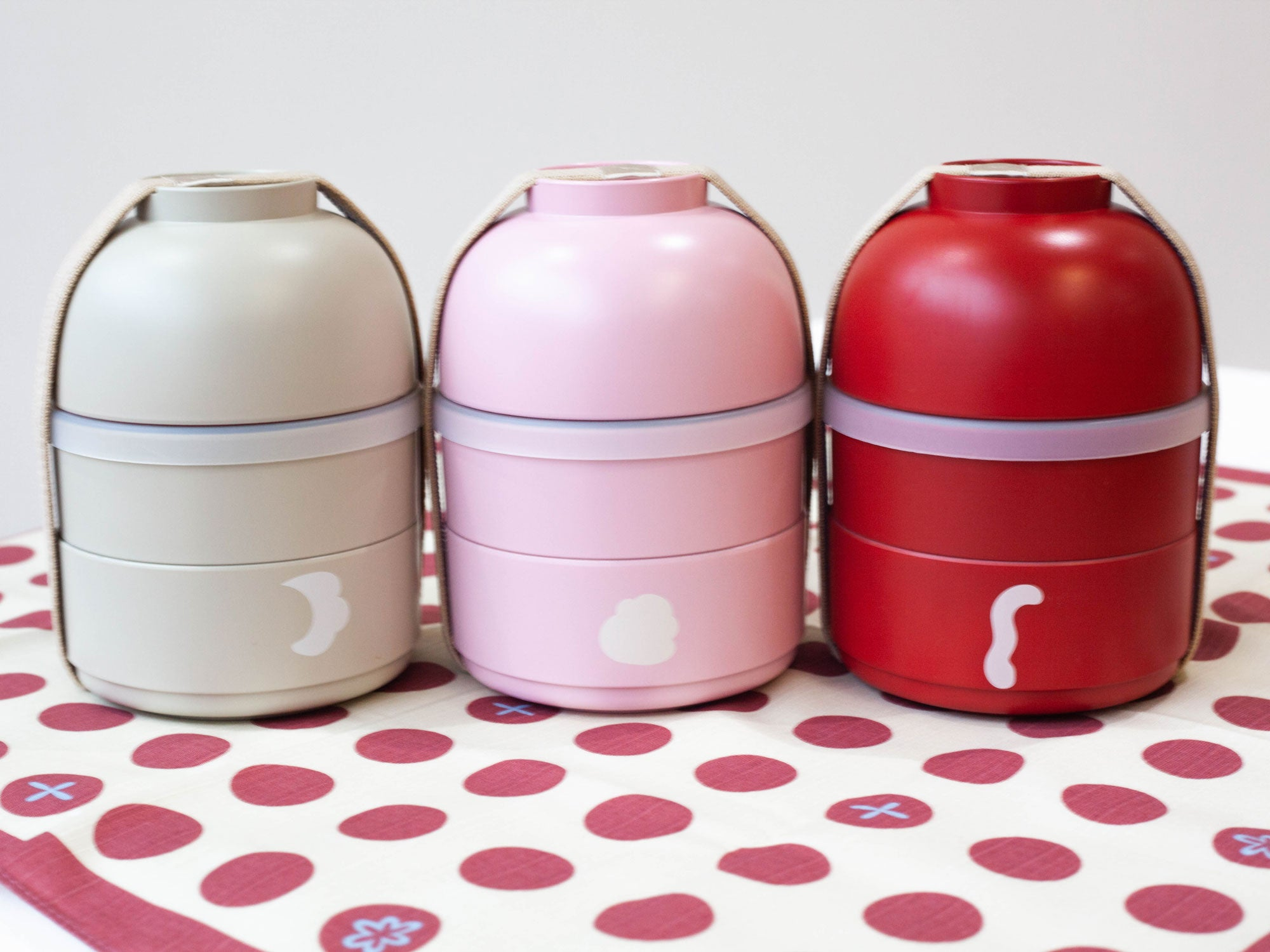Kokeshi Saru Bento | Red by Hakoya - Bento&co Japanese Bento Lunch Boxes and Kitchenware Specialists