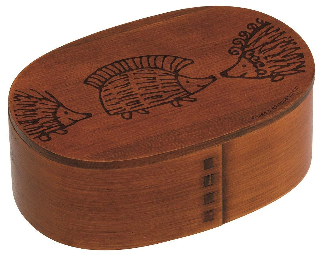 Lisa Larson Hedgehog Magewappa Bento Box by Skater - Bento&co Japanese Bento Lunch Boxes and Kitchenware Specialists