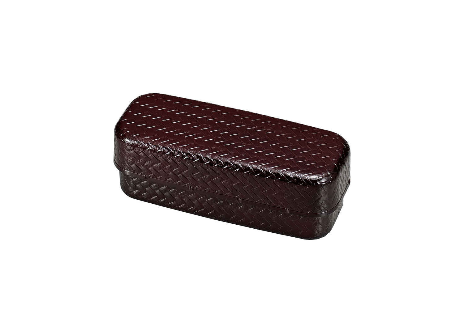 Ajiro Slim Tier Bento Box | Dark Brown by Hakoya - Bento&co Japanese Bento Lunch Boxes and Kitchenware Specialists