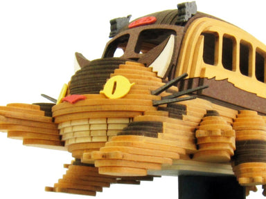 Miniatuart | My Neighbor Totoro : The Catbus by Sankei - Bento&co Japanese Bento Lunch Boxes and Kitchenware Specialists