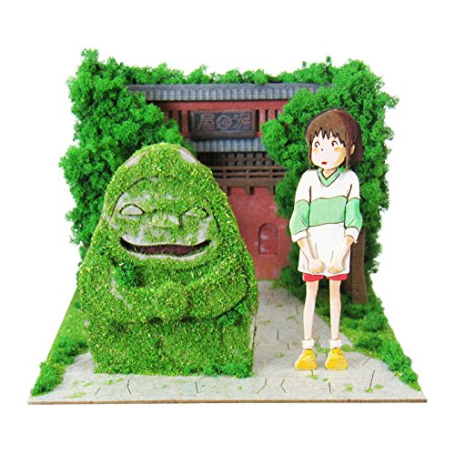 Miniatuart | Spirited Away : Chihiro and Stoneman by Sankei - Bento&co Japanese Bento Lunch Boxes and Kitchenware Specialists