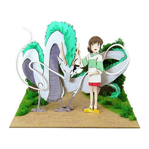 Miniatuart | Spirited Away : Chihiro and Haku Dragon by Sankei - Bento&co Japanese Bento Lunch Boxes and Kitchenware Specialists