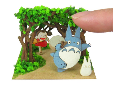 Miniatuart | My Neighbor : Totoro The secret tunnel by Sankei - Bento&con the Bento Boxes specialist from Kyoto