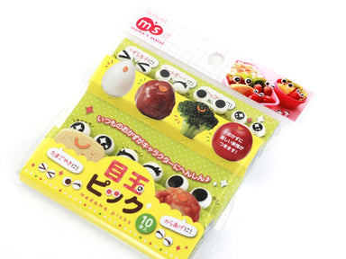 Eyeball Picks by Torune - Bento&co Japanese Bento Lunch Boxes and Kitchenware Specialists