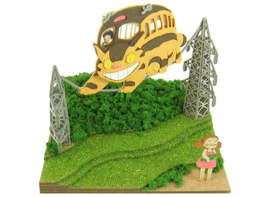 Miniatuart | My Neighbor Totoro : Mei and the Catbus by Sankei - Bento&co Japanese Bento Lunch Boxes and Kitchenware Specialists