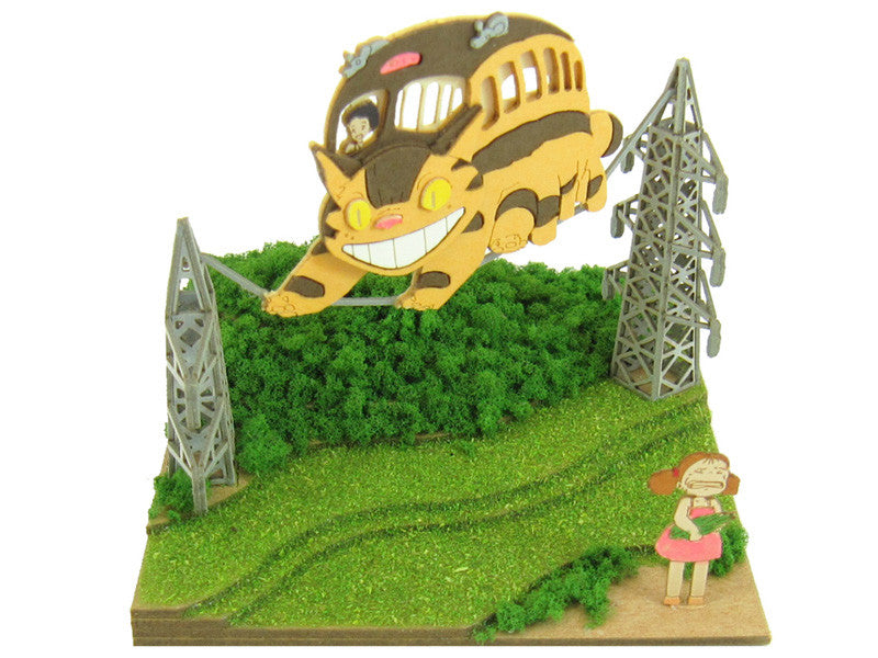 Miniatuart | My Neighbor Totoro : Mei and the Catbus by Sankei - Bento&con the Bento Boxes specialist from Kyoto