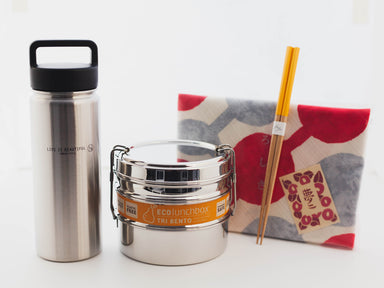 Metal Eco Bundle by Bento&co Bundles - Bento&co Japanese Bento Lunch Boxes and Kitchenware Specialists