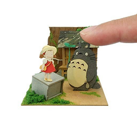 Miniatuart | My Neighbor Totoro: In Front of the Great Tree