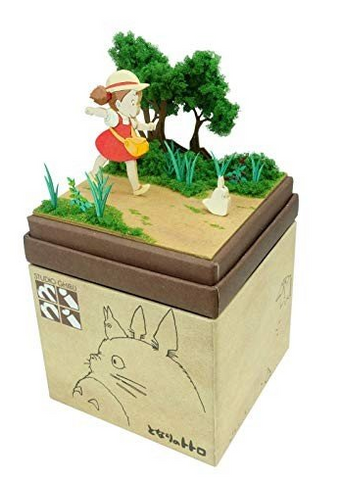 Miniatuart | My Neighbor Totoro: Mei and Totoro Go for a Walk by Sankei - Bento&co Japanese Bento Lunch Boxes and Kitchenware Specialists
