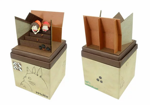 Miniatuart | My Neighbor Totoro: Sootballs, Come Out! by Sankei - Bento&co Japanese Bento Lunch Boxes and Kitchenware Specialists