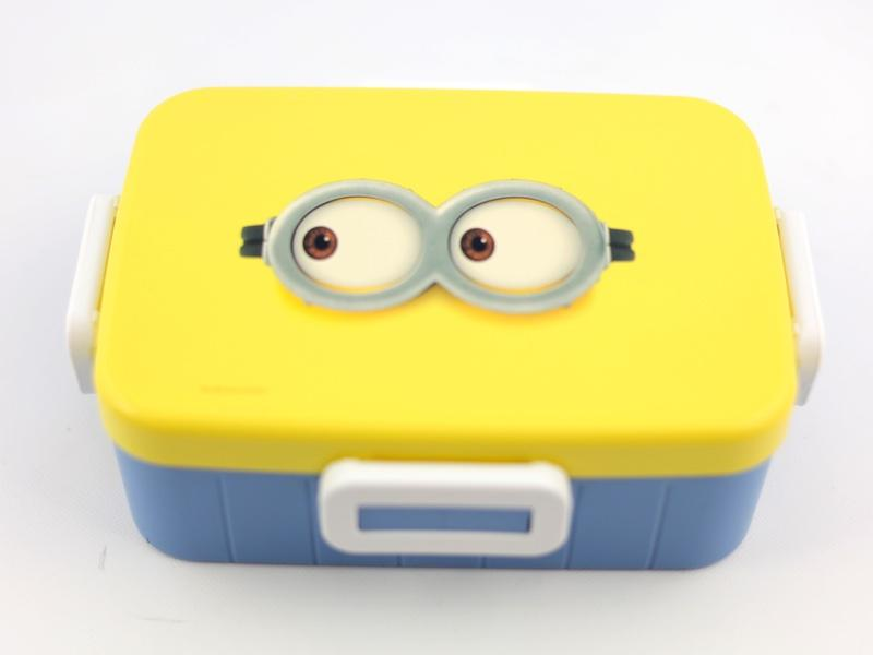 Minion 4 Side Lock Bento 650ml by Skater - Bento&co Japanese Bento Lunch Boxes and Kitchenware Specialists