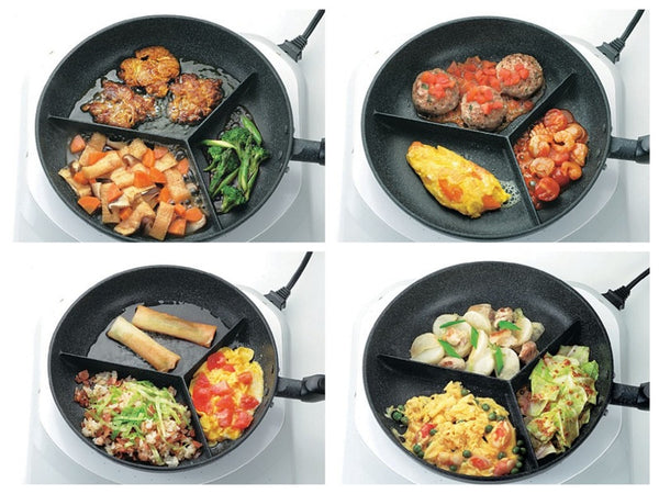 pan for induction, 3 in 1 induction pan