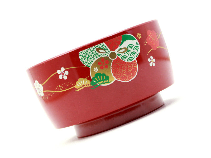 Motenashi Kagamon Bowl | Scarlet by Hakoya - Bento&co Japanese Bento Lunch Boxes and Kitchenware Specialists