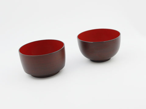 Motenashi Wan Mokume Maru Bowl by Hakoya - Bento&co Japanese Bento Lunch Boxes and Kitchenware Specialists
