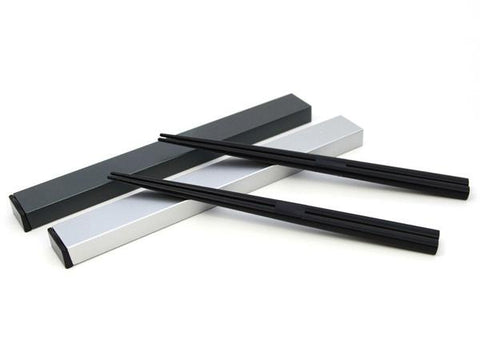 Black Metallic Chopsticks | 18.0 cm by Hakoya - Bento&co Japanese Bento Lunch Boxes and Kitchenware Specialists