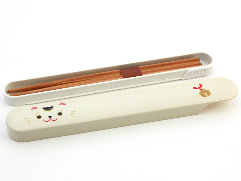 Kao Neko Chopsticks | Black by Hakoya - Bento&co Japanese Bento Lunch Boxes and Kitchenware Specialists