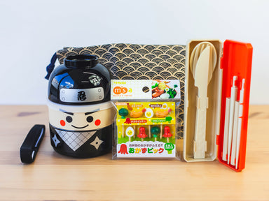 Kokeshi Ninja Bundle by Bento&co Bundles - Bento&co Japanese Bento Lunch Boxes and Kitchenware Specialists