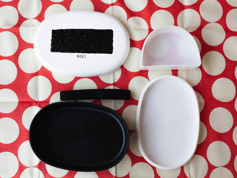 Toppings Oval Bento Box | Nori by Hakoya - Bento&co Japanese Bento Lunch Boxes and Kitchenware Specialists