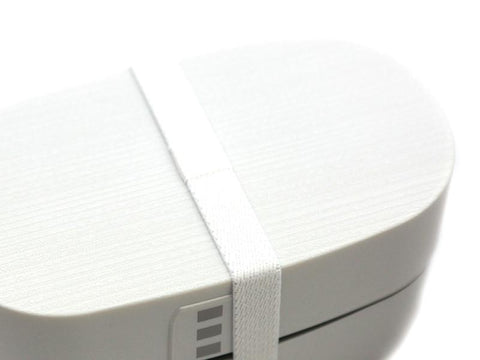 Nuri Wappa Large | White by Hakoya - Bento&co Japanese Bento Lunch Boxes and Kitchenware Specialists