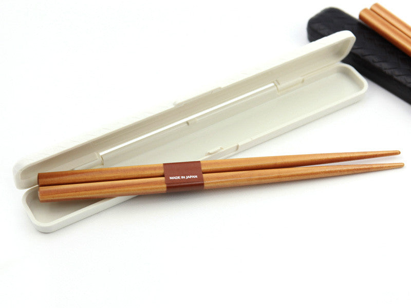 Nuri Ajiro Chopsticks | White by Hakoya - Bento&co Japanese Bento Lunch Boxes and Kitchenware Specialists
