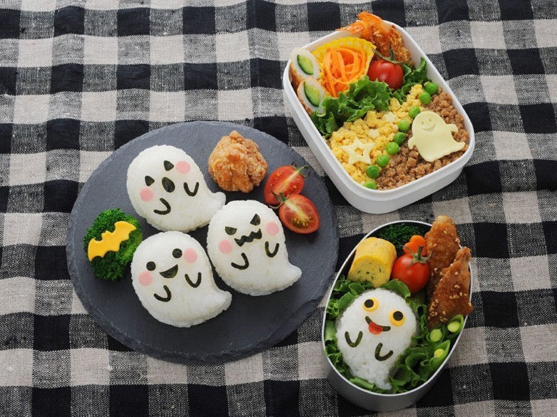 Ghost Onigiri Set by Arnest - Bento&co Japanese Bento Lunch Boxes and Kitchenware Specialists