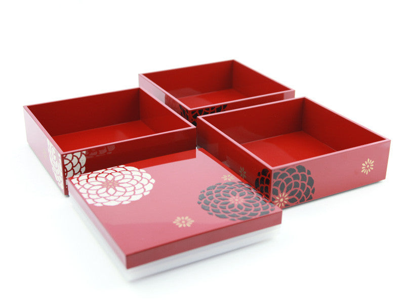 Ojyu Hors d'oeuvre | Red by Hakoya - Bento&co Japanese Bento Lunch Boxes and Kitchenware Specialists