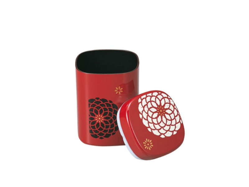 Tea Box Ojyu | Red 950 ml by Hakoya - Bento&co Japanese Bento Lunch Boxes and Kitchenware Specialists