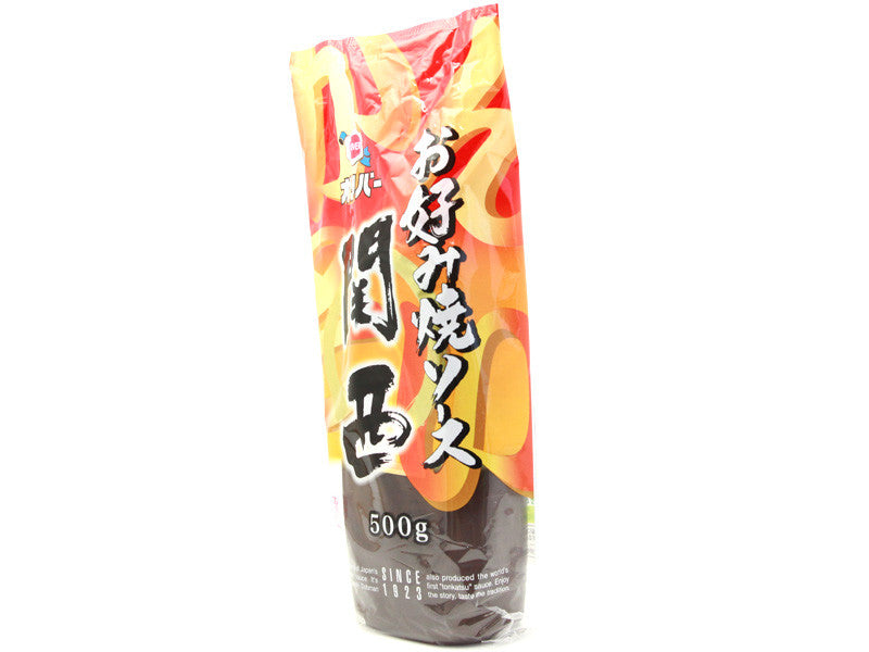 Okonomiyaki Sauce Kansai 500g by Bento&co | AMZJP - Bento&co Japanese Bento Lunch Boxes and Kitchenware Specialists