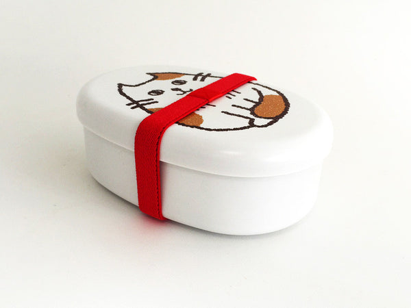 Oval Cat Bento Box | Osumashi