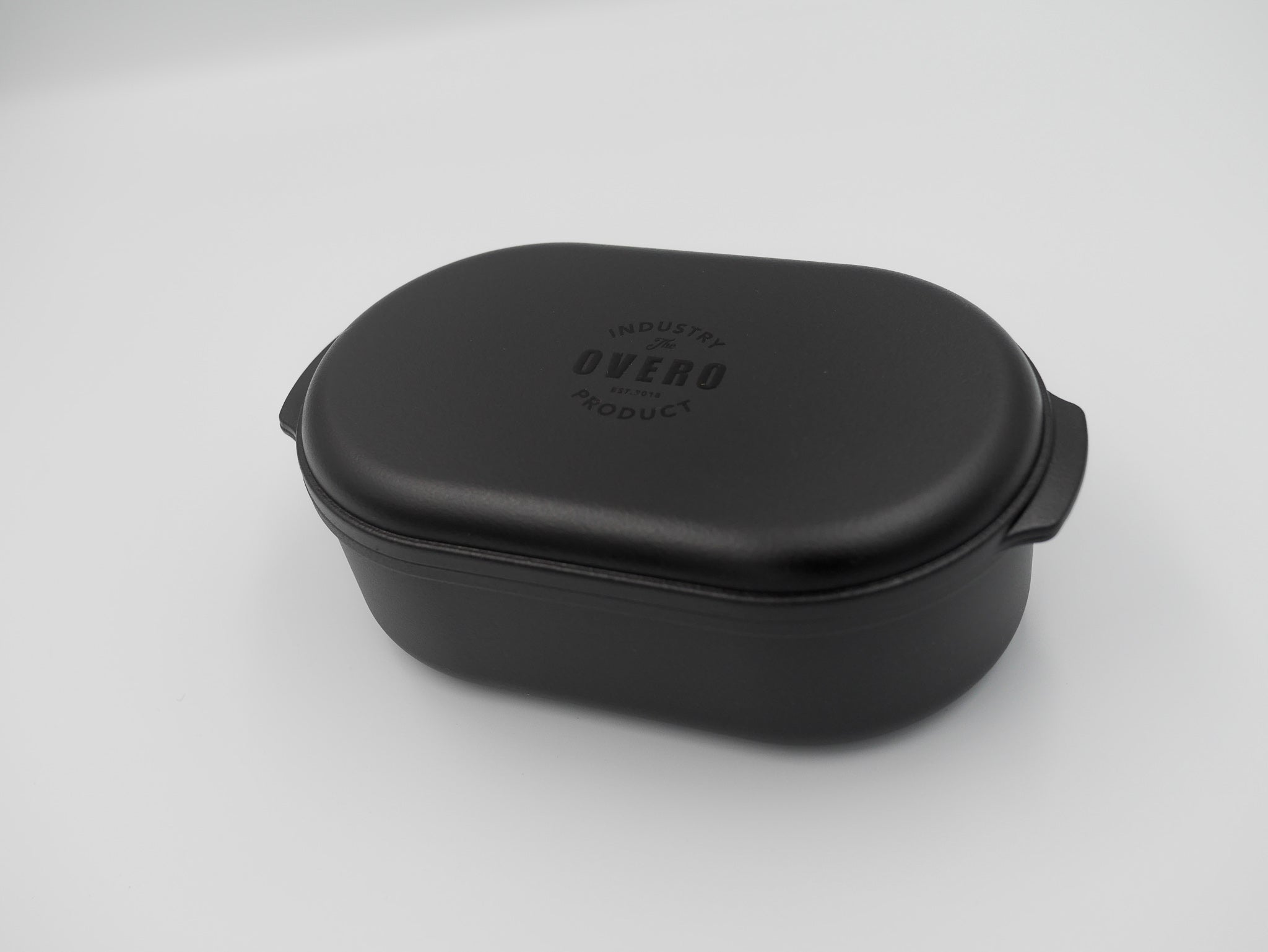 Overo One-tier Lunch Box | Black