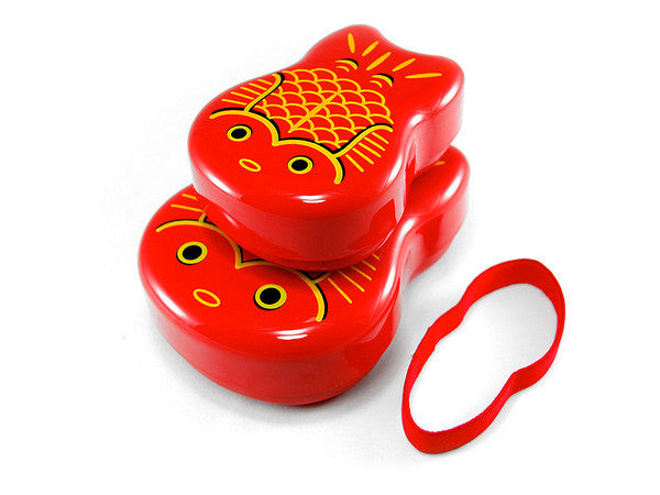 Oyako Bento Box | Red by Hakoya - Bento&co Japanese Bento Lunch Boxes and Kitchenware Specialists