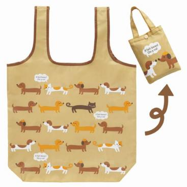 Foldable Bento Bag | Cats and Dogs