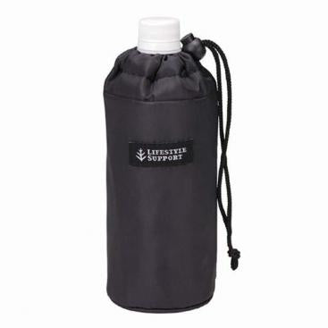 Insulated Water Bottle Cover | Simple Black by Torune - Bento&co Japanese Bento Lunch Boxes and Kitchenware Specialists