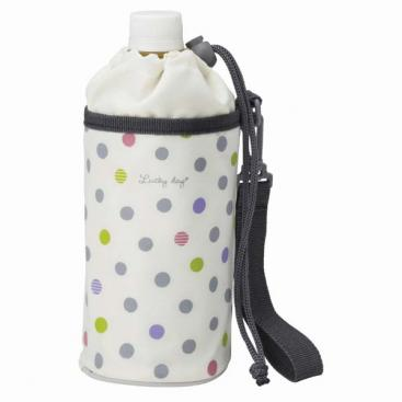 Insulated Water Bottle Cover | Colorful Polka Dots by Torune - Bento&co Japanese Bento Lunch Boxes and Kitchenware Specialists