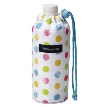 Insulated Water Bottle Cover | Colorful Dots by Torune - Bento&co Japanese Bento Lunch Boxes and Kitchenware Specialists