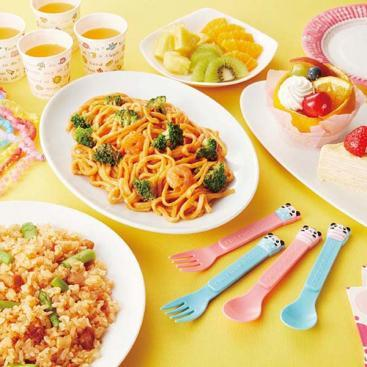 Panda Spoon & Fork Set by Torune - Bento&co Japanese Bento Lunch Boxes and Kitchenware Specialists