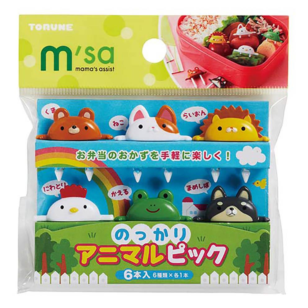 Animal Friends Picks by Torune - Bento&co Japanese Bento Lunch Boxes and Kitchenware Specialists