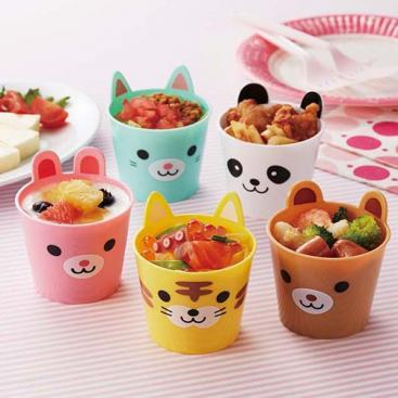 Kids Animal Party Cups by Torune - Bento&co Japanese Bento Lunch Boxes and Kitchenware Specialists