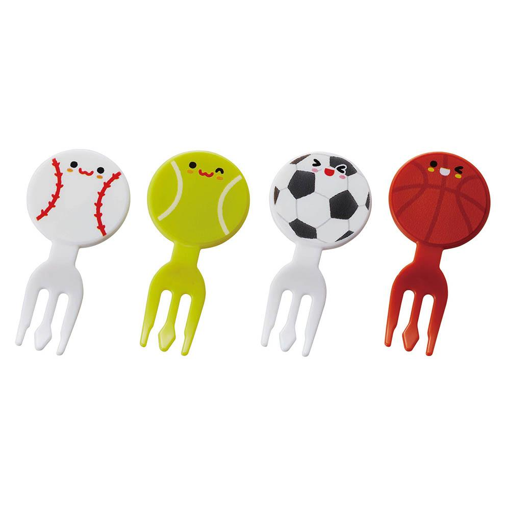 Ball Friends Fork Picks by Torune - Bento&co Japanese Bento Lunch Boxes and Kitchenware Specialists