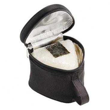 Insulated Double Onigiri Case | Black by Torune - Bento&co Japanese Bento Lunch Boxes and Kitchenware Specialists