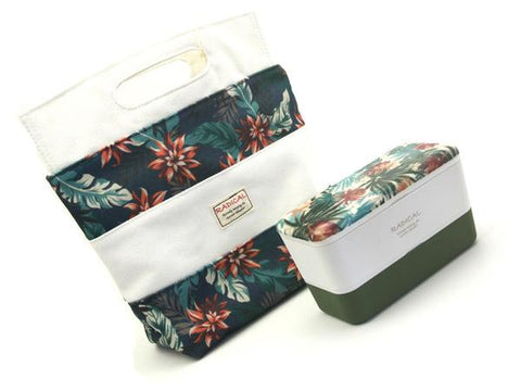 Radical Botanical Bag | White by Aizawa - Bento&co Japanese Bento Lunch Boxes and Kitchenware Specialists