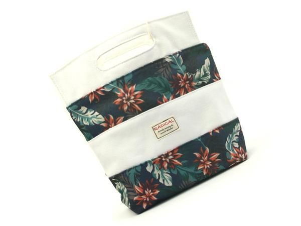 Radical Botanical Bag | White by Showa - Bento&co Japanese Bento Lunch Boxes and Kitchenware Specialists